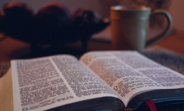 A Bible which you read on the Sabbath