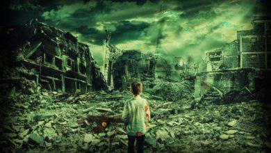 Eine verwüstete Welt - Wie wäre eine Welt ohne Gott?