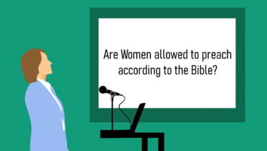 A women that is not allowed to preach according to the Bible